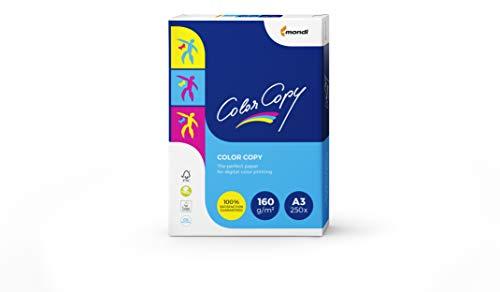 Color Copy - Papier de qualité supérieure Blanc 160 g/m² A3 - Ramette de 250 feuilles