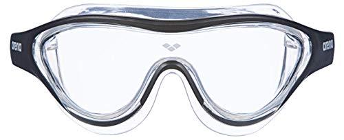 ARENA Unisex– Erwachsene Schwimmbrille The One Mask, Clear-Black-transparent, TU