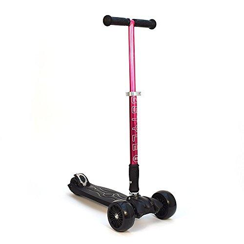 Bollinger Scooter de 3 Ruedas, Unisex niños, púrpura, Talla Única