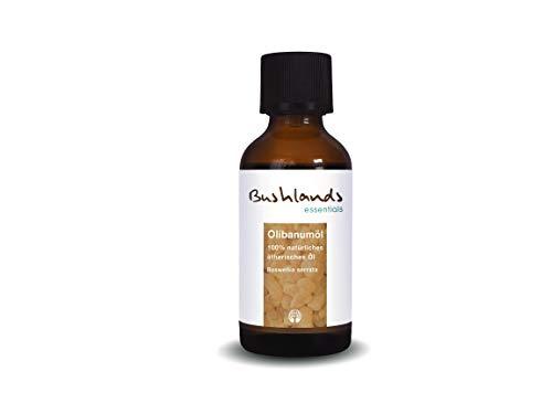 Bushlands essentials naturreines ätherisches Olibanum Öl Weihrauch Öl (Boswellia serrata) 50 ml