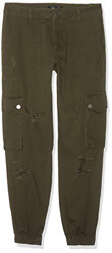 New Look Jackie Ripped Cargo Pantalones para Niñas