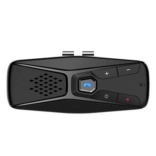 kexinda Coche Parasol Bluetooth 4.1 Jugador Automotive Manos Libres Parasol inalámbrico con Altavoz MP3 Player