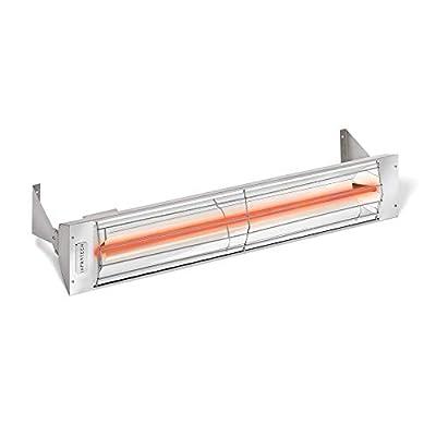 "Infratech 33"" W Series 1500 Watt Single Element Stainless Steel Electric Patio Heater"