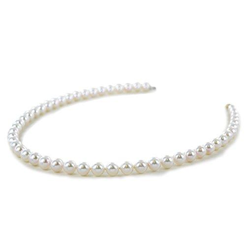 Nimei - Collana girocollo filo di perle d'acqua salata AKOYA 7-7,5