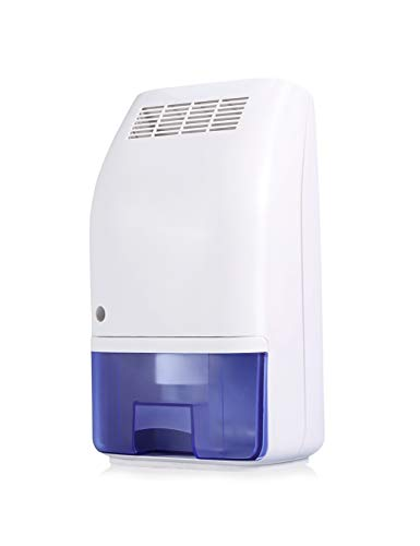 Estink 700ml Air Dehumidifier, Ultra Quiet Portable Dehumidifier Moisture Absorber Compact Portable and Lightweight for Home Bedroom Bathroom Basement Office Garage