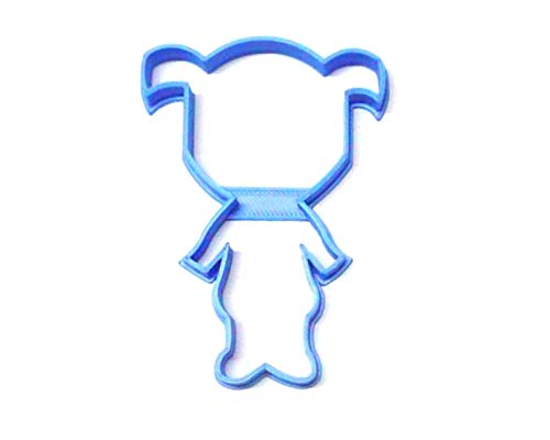 BOO LITTLE GIRL OUTLINE CARTOON CHARACTER FROM MONSTERS INC SPECIAL OCCASION COOKIE CUTTER BAKING TOOL 3D PRINTED MADE IN USA PR3221