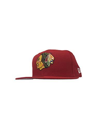 New Era Chicago Blackhawks NHL Hockey 9FIFTY Snapback Hat Baseball Caps 950, Red Inag Season, Einheitsgröße