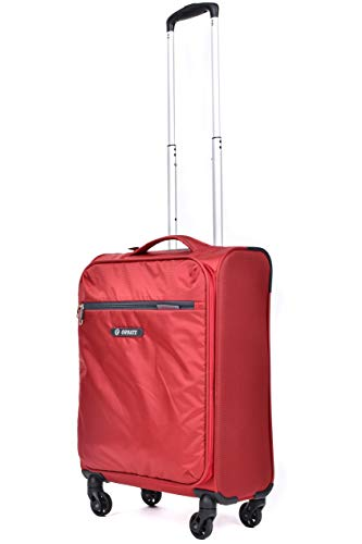 Ornate - Ultra Lightweight Carry On Luggage with Spinner Wheels. Softside Rolling Suitcase