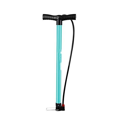 Xu-wang123 Bomba de Bicicleta 120 / 160PSI Acero Turquesa Carretera válvula de la Bomba de Aire for inflar Ciclismo MTB Bomba neumático de la Bicicleta (Color : 160PSI Pump)
