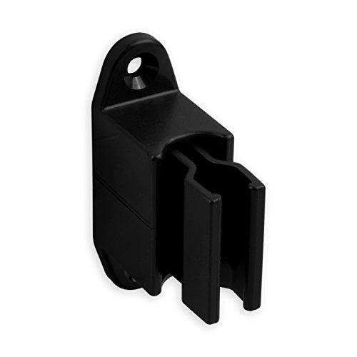 DIWARO® Kurbelhalter | verstellbar | für 12-17 mm Kurbeln | Kunststoff | schwarz | Kurbelstange | Rolllade | Jalousie | Rollo