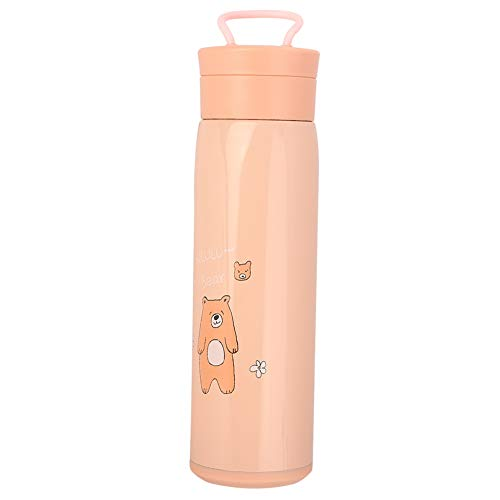 Taza de vacío de viaje Botella de vacío de acero inoxidable Botella de agua de vacío de viaje 7 * 23,8 cm / 2,8 * 9,4 pulgadas para el hogar, la escuela, la oficina(orange)