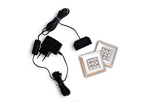 FUTURE 5 Moderne Wohnwand, Exklusive Mediamöbel, TV-Schrank, Neue Garnitur, Große Farbauswahl (RGB LED-Beleuchtung Verfügbar) (Weiß MAT base / Weiß HG front, Weiß LED) - 3