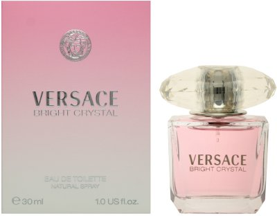 Versace Bright Crystal By Gianni Versace For Women, Eau De Toilette Spray, 1-Ounce Bottle