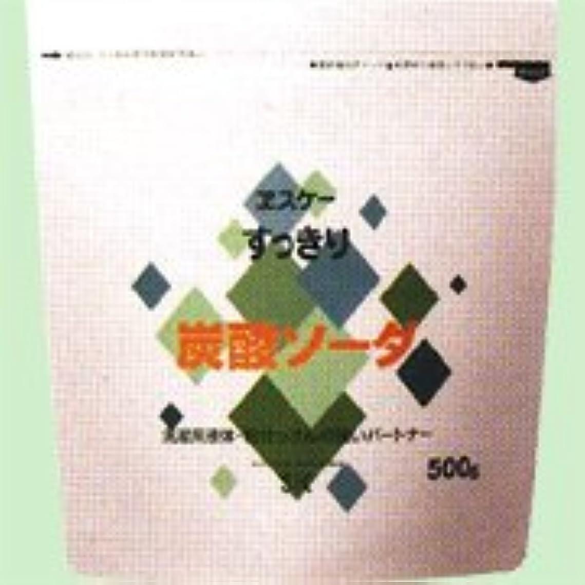 そしてシネマ教授すっきり炭酸ソーダ 500g   エスケー石鹸
