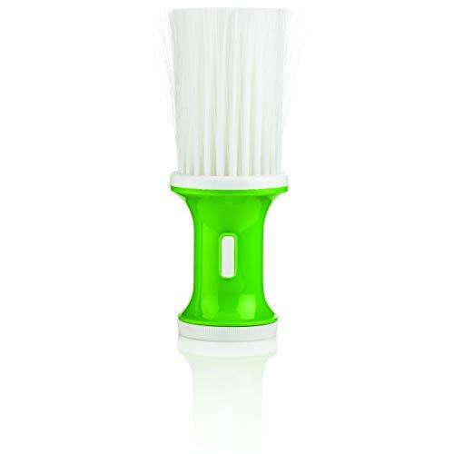 Poire à talc verte
