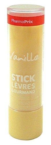 PHARMAPRIX Stick à lèvres gourmand à la vanille - 4 g