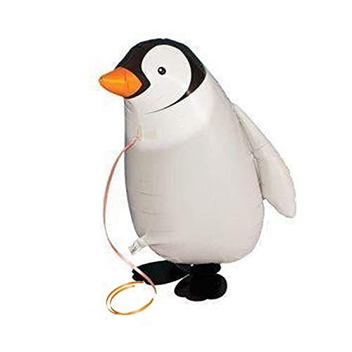 Mattelsen Globos de Animal Caminando Helio Pingüino Juguetes Inflables Hinchables para niños...