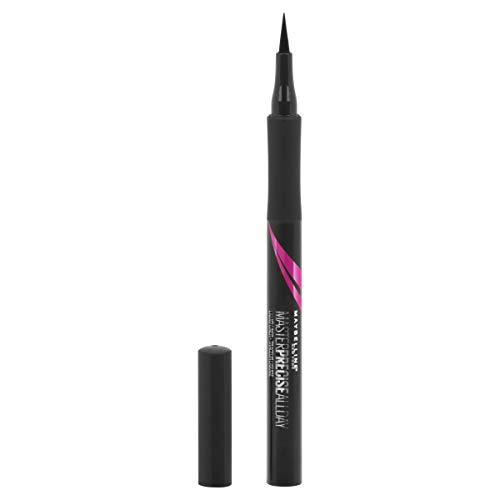 Maybelline Eyestudio Master Precise All Day Liquid Eyeliner, Black, 0.034 Ounce