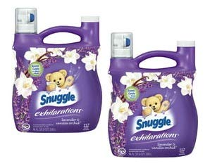 Snuggle Exhilarations Liquid Fabric Softener, Lavender & Vanilla Orchid, 96 Ounce, 112 Loads (Pack of 2)
