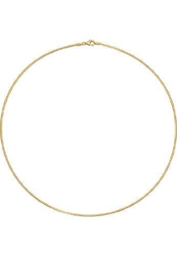 CHRIST Gold Damen-Halsreif 375er Gelbgold One Size 85709909
