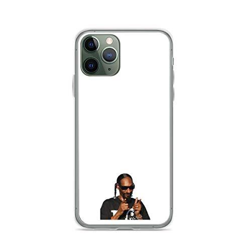 Absorción de Golpes de TPU Snoop Dogg for Your StuffsFundas para teléfono Pure Clear compatibles con iPhone 12/12 Pro MAX 12 Mini 11 Pro MAX SE X XS MAX XR 8 7 6 6s Plus Funda