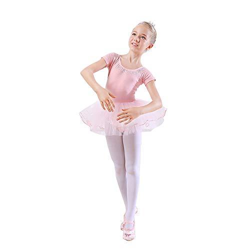 Children's wear Costumes de Danse pour Enfants, Jupes de Danse de Ballet pour Filles, Costumes de Gymnastique acrobatique pour Enfants ZDDAB
