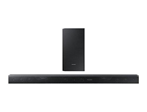Abbildung Samsung HW-K850 verkabelt & kabellos 3.1 Kanäle 360W Schwarz Soundbar-Lautsprecher - Soundbar-Lautsprecher (3.1 Kanäle, 360 W, DTS Digital Surround, Dolby Atmos, Dolby Digital Plus, Dolby TrueHD, Active subwoofer, verkabelt & kabellos, 43 W)