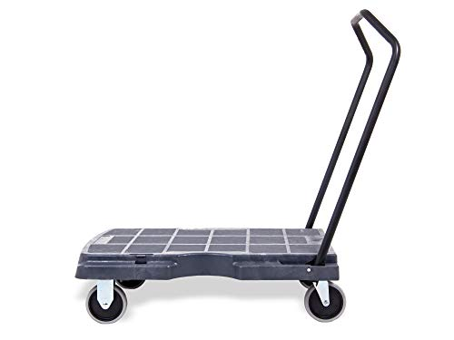 Pake Handling Tools Folding Cart - Versatile and Heavy Duty Rolling Dolly Cart with Wheels 400 lbs Capacity