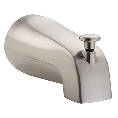 """PULSE ShowerSpas Bathtub Spout Valve with Diverter, 1/2"""" NPT Connection"""