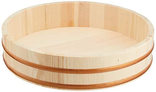 Wooden Sushi Oke Hangiri 33 cm #9623 by JapanBargain