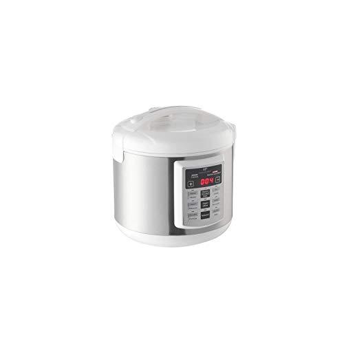 Continental Edison - Multi cuiseur automatique blanc et inox