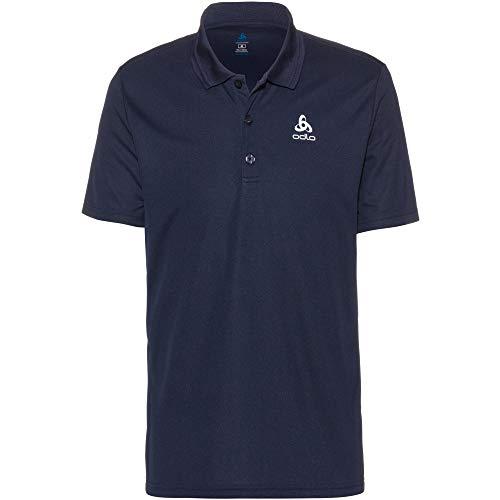 Odlo Herren Polo Shirt s/s Timo Poloshirt, Diving Navy, L