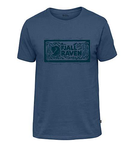 Fjällräven T-shirt met logo en stempel voor heren