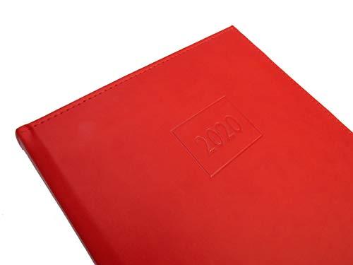 Libro de reserva - registro 2020 Rojo Flame (restaurantes, hostelería, restauración) - diferentes colores