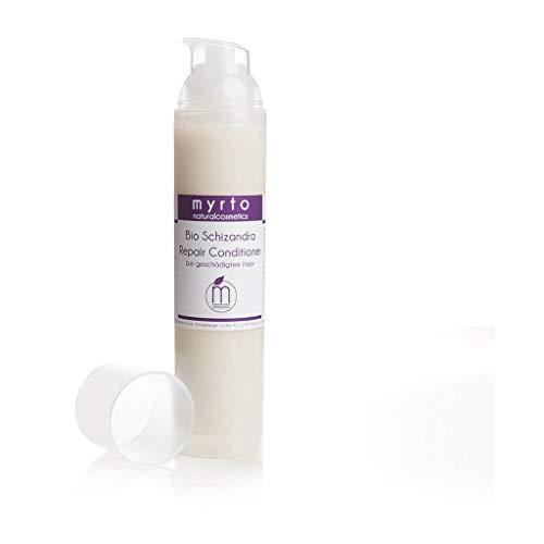 myrto – Bio Repair Haar Conditioner Leave-in | für geschmeidiges + glänzendes Haar -ohne Alkohol - ohne Silikone -ohne Konservierungsstoffe - vegan - 100ml