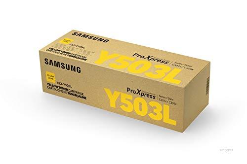 Samsung CLT-Y503L/ELS Original Toner Gelb - Kompatibel mit: SL-C3010ND | C3060FR