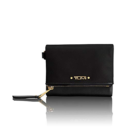 TUMI - Voyageur Flap Card Holder Case - Compact Wallet for Women - Black