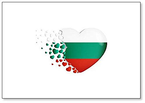 mit Liebe aus bulgarischen Classic Kühlschrankmagnet