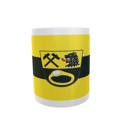 U24 Tasse Kaffeebecher Mug Cup Flagge Ainring