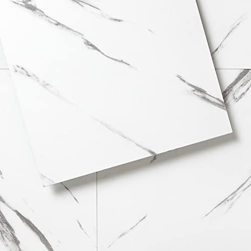 Luxury Vinyl Floor Tiles by Lucida USA | Peel & Stick Adhesive Flooring for DIY Installation | Sample Decorative-Look Plank | 6