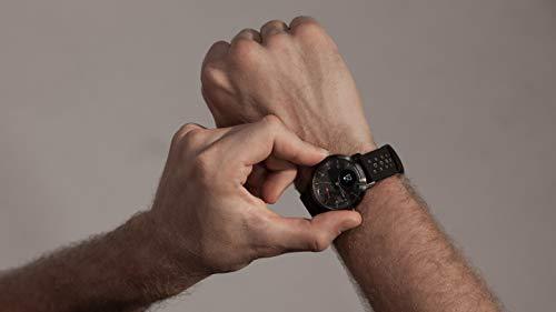 Withings Steel HR Sport – Multi-Sport Hybrid Smartwatch – Herzfrequenz- und Fitnesstracker, schwarz, 40mm - 6