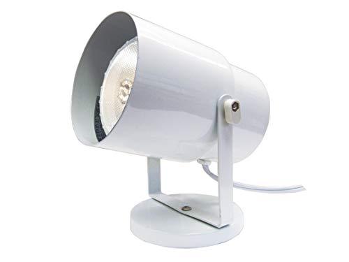 Satco Products SF77/395 Multi-Purpose Portable Spot Light, White