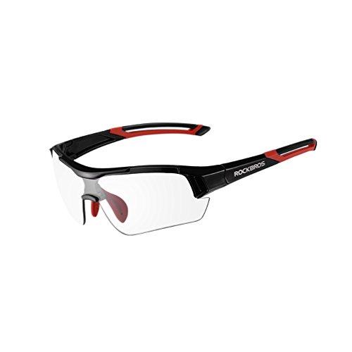 ROCKBROS Unisex Photochromic Fietsen Zonnebril UV Bescherming voor Outdoor Sport