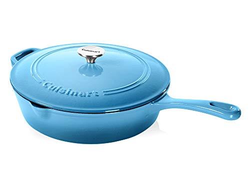 Cuisinart Cast Iron Chicken Fryer, Blue Gradient, 12'