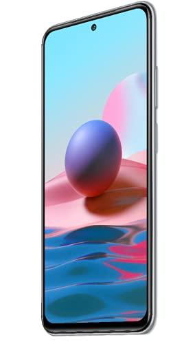 Xiaomi Redmi Note 10 Smartphone RAM 4GB ROM 64GB 6.43' AMOLED DotDisplay 5000mAh (typ) Batteria Ricarica rapida da 33W 48MP Wide-Angle telecamera Bianca [Versione globale]