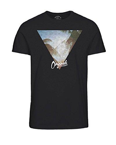 Jack & Jones Originals Jordamie 12141060 T-shirt à col rond pour homme 100 % coton - Noir - Small