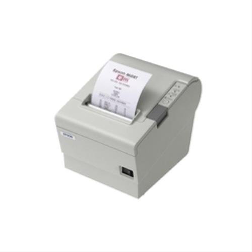 Epson TM-T88V, USB, RS232, White, C31CA85012 (incl.: Power Supply, Cable (EU), Cable Cover, Paper Width Adapter, Switch Cover)