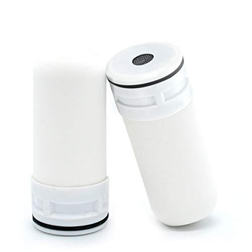 WinArrow Wasserfilterkartusche, WA771 gesinterte Keramik-Wasserhahn-Wasserfilter-Kartusche für Küche Bad entfernt Chlor und Pestizide