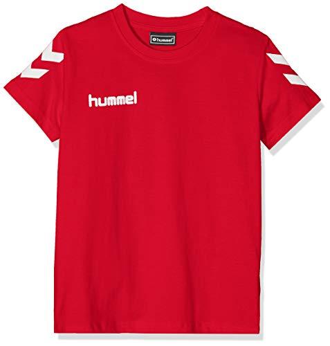 Hummel Hmlgo - Camiseta Infantil de algodón, Unisex niños, Camisetas, 203567-3062, Color Rojo, 152 (XL)