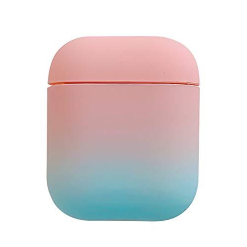 MYBOON Adecuado para Funda Protectora de Color Degradado, Caja de Auriculares de Carcasa Dura